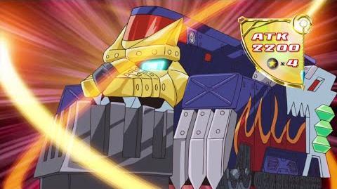 Heavy Armored Train - Iron Wolf Summon (Allen Kozuki)