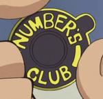 Number's Club Badge