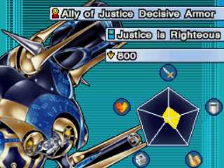 Ally of Justice Decisive Armor