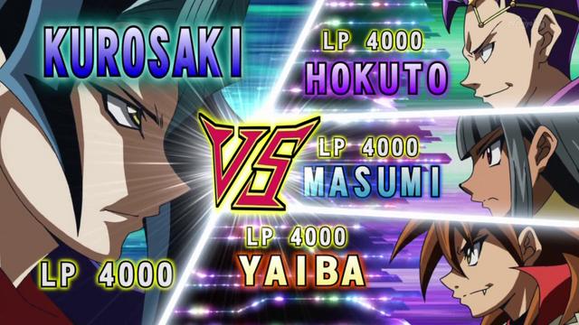 File:Kurosaki VS Masumi, Hokuto & Yaiba.png