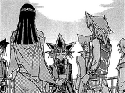 Yugi learns about the Ceremonial Battle
