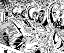 Embodiment of Apophis triple attack