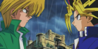 Yami Yugi and Joey's Duelist Kingdom Duel