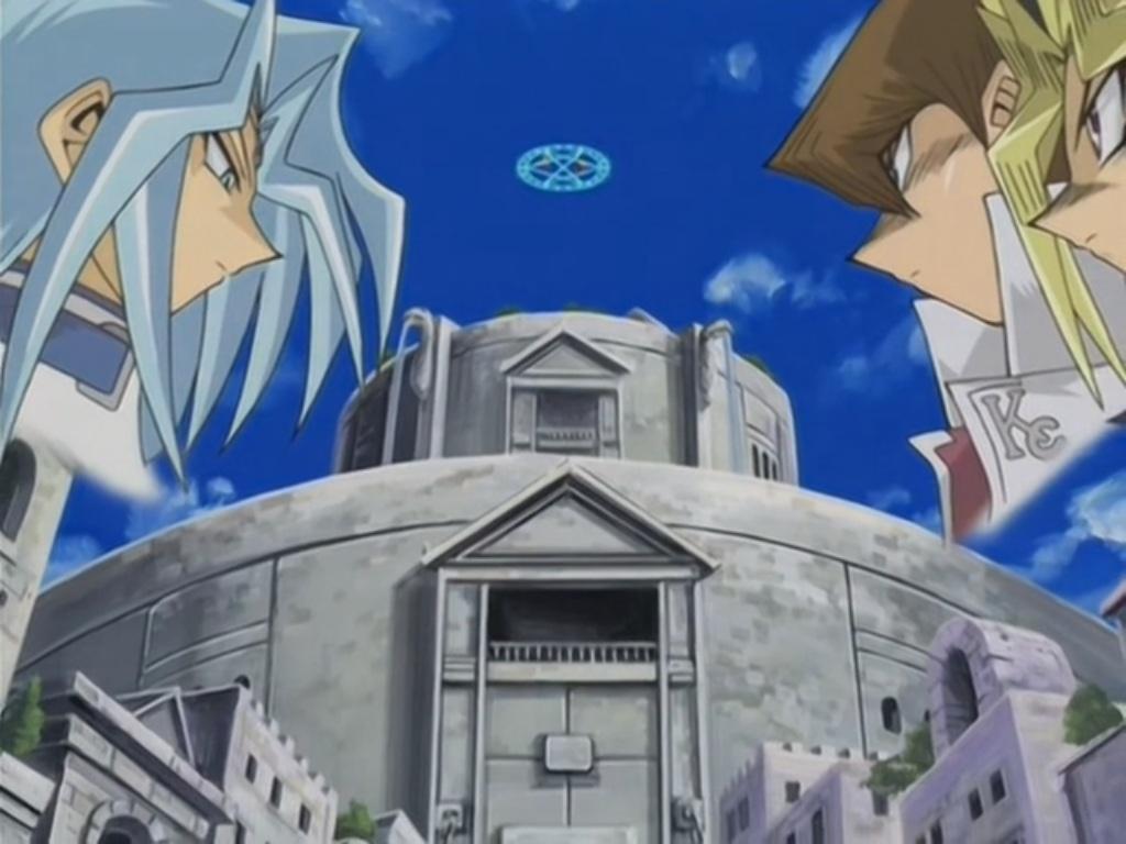 yami yugi kaiba and dartz u0027s duel yu gi oh fandom powered by