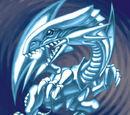 Drago Bianco Occhi Blu