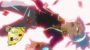 Sora defeated by Zarc