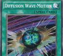 Diffusion Wave-Motion