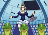 Princess Rose and her Des Frogs