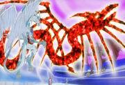 5Dx005 Crimson Dragon appears