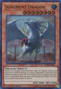 YuGiOh! TCG karta: Judgment Dragon