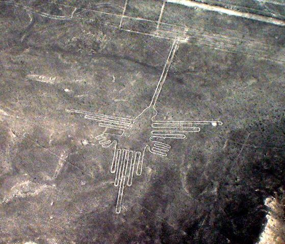 File:Lignes de Nazca Décembre 2006 - Colibri 2.jpg