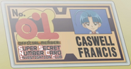 Caswell's Investigation Club Member's Card