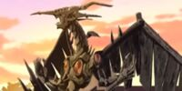 Stardust Dragon statue