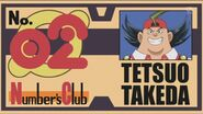 Tetsuo's Number Club Member's Card
