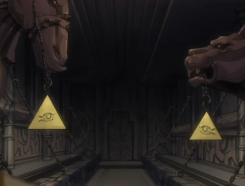 File:Yu-Gi-Oh! reference in Fairy Tail.png
