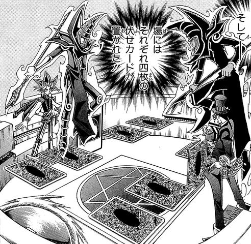 File:Dark Yugi VS Pandora - face-down buildup.png