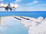 Blue-Eyes White Dragon jet launch
