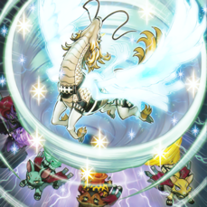 """Clockwise from top left: """"Majespecter Unicorn - Kirin"""", """"Fox"""", """"Cat"""", """"Raccoon"""" and """"Crow"""" in the artwork of """"Majesty's Pegasus"""""""
