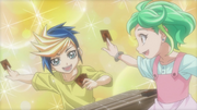 Young Yugo & Rin Dueling