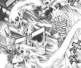 Dark Bakura and Ghost Kozuka's Duel (manga)