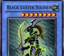 Schwarz Glänzender Soldat