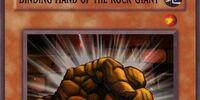 Binding Hand of the Rock Giant