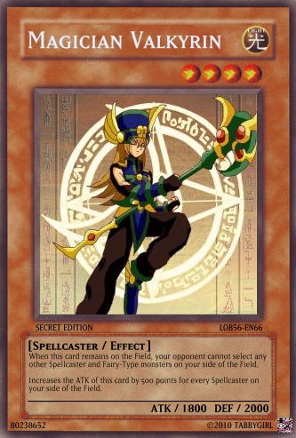 Magician Valkyrin card