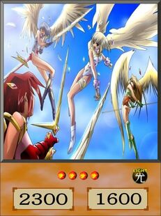 Angel Attack Force dubbed anime