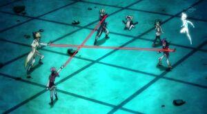 Tag team duel