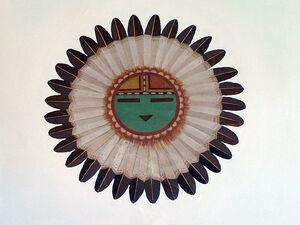 Hopi Tawa Mural