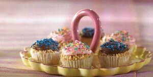 Rice crispy cupcakes