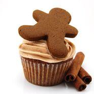 Gingerbread-cupcakes