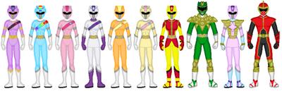 Harmony Force Rangers