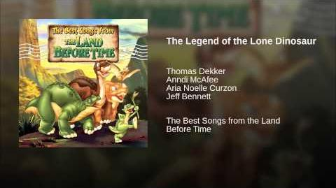 The Legend of the Lone Dinosaur