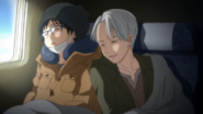 Yuri and Victor go to Chine