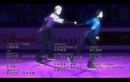 Viktor and Yuuri on the ice 5