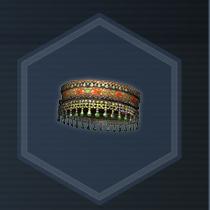 Ornamental headband C