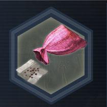 Pink seed bag