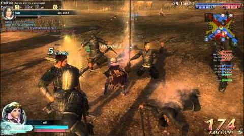 DWO Iron Spear - Move Set