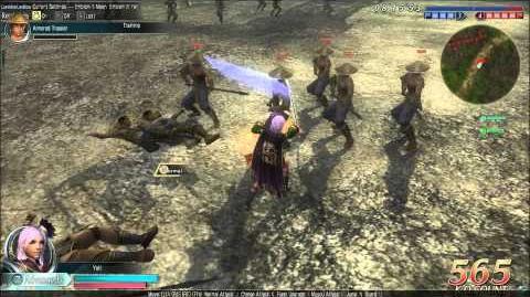 DWO Iron Sword - Move Set