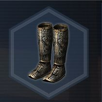Silver Boots L