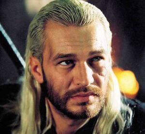 Tvář Michała Żebrowského ze seriálu Zaklínač se stala do značné míry i předlohou při vytváření Geraltovy digitální podoby.