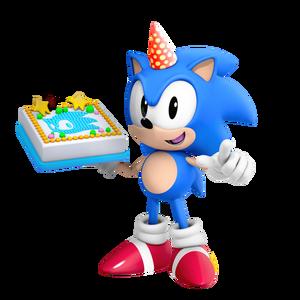Sonic Birthday Picture