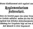 Reglementarium Schrecksii