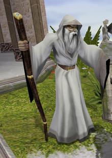 White druid