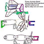 Queen Insecticon Inbit Armada