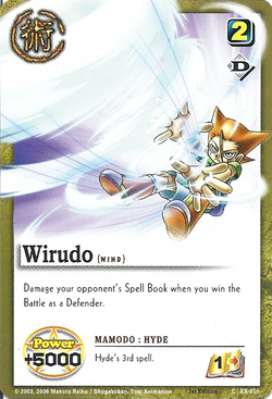 Wirudo card
