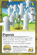 Paperuk card