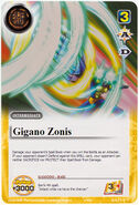 Gigano Zonis (card)