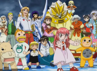 Protagonists of the Faudo Arc